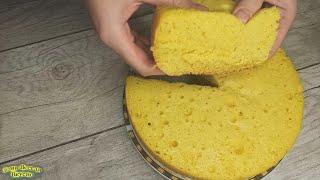 ИДЕАЛЬНЫЙ бисквит в мультиварке Рецепт пышного бисквита