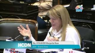Dip. Margarita Stolbizer - Sesión Ordinaria 10.06.2015 - Hcdn