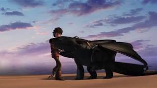 Как приручить дракона | ''Don't Let Me Down'' клип