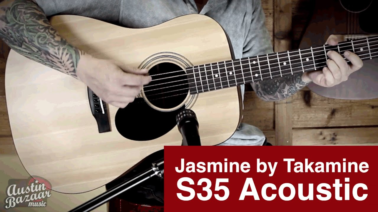 jasmine s35 acoustic guitar demo youtube. Black Bedroom Furniture Sets. Home Design Ideas