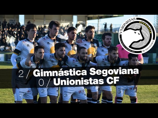 Gimnástica Segoviana 2-0 Unionistas CF (Jornada 16) 2016/17