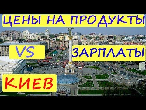 ЦЕНЫ НА ПРОДУКТЫ vs ЗАРПЛАТЫ /  КИЕВ / УКРАИНА / ТАК КАК ЕСТЬ