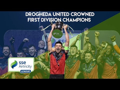 BEHIND-THE-SCENES | Drogheda United crowned First Division champions!