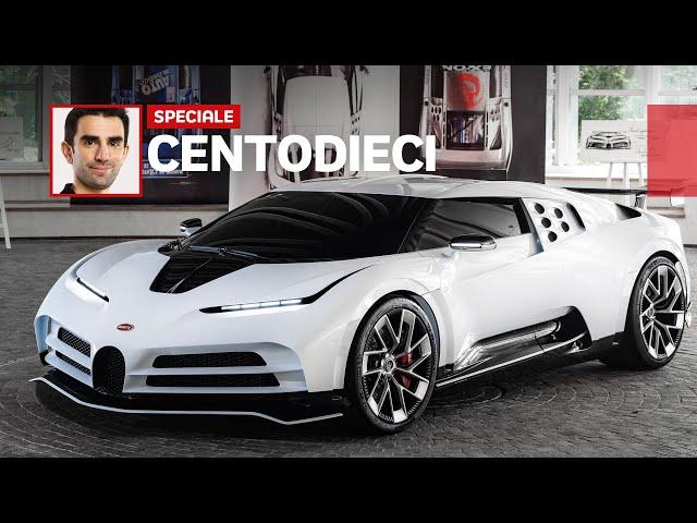 Bugatti CENTODIECI, così rinasce il mito della EB110 (con dedica a Campogalliano) [ENG SUB]