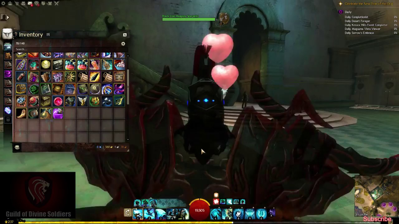 Guild Wars 2 Alchemist Weapon Skin Previews Youtube