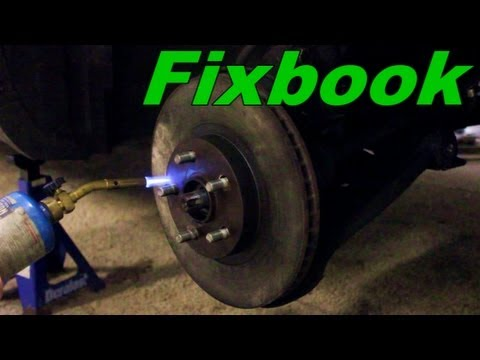 how to clean brake rotors without removing wheel