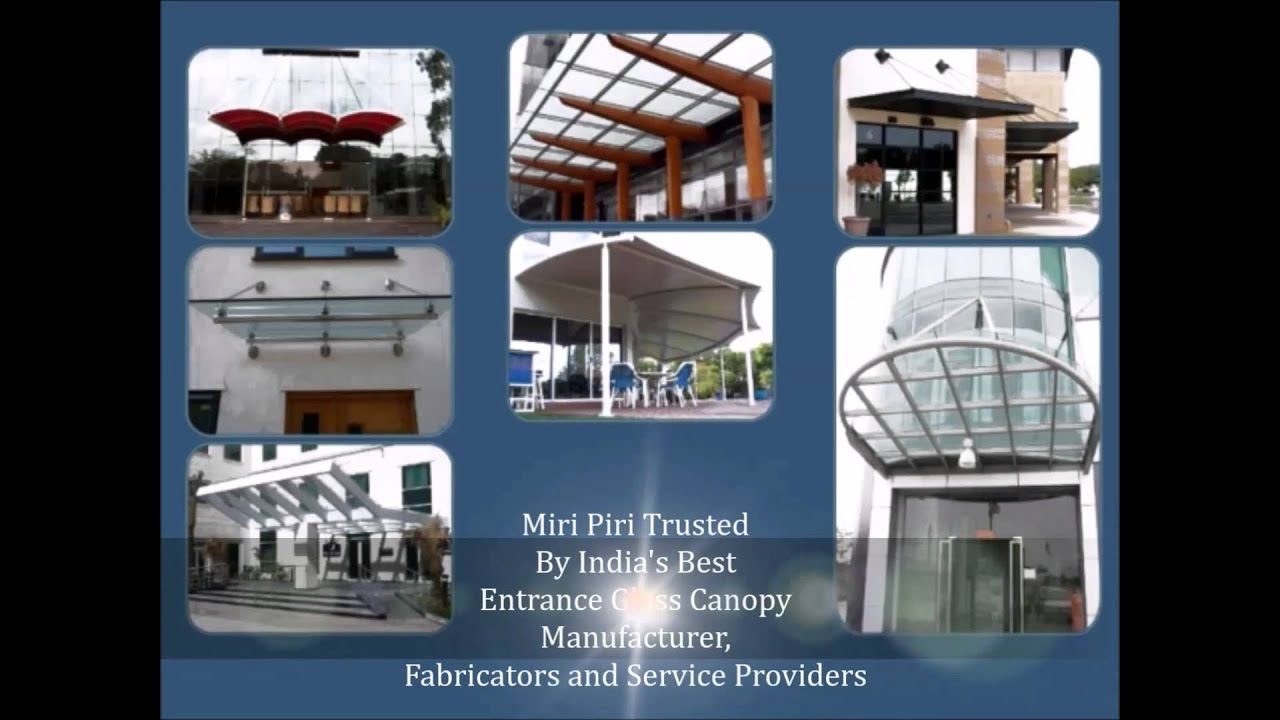 Glass Awnings Roof Awning Canopy Fittings Manufacturers Design NewDelhi