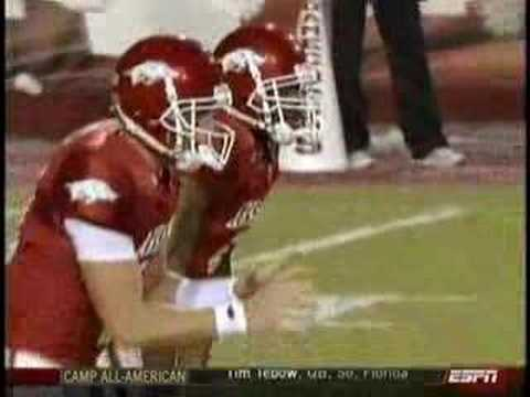 Darren McFadden wins the 2007 Doak Walker Award