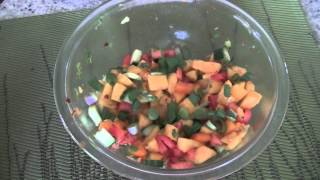 How To Prepare Mango Salsa (fresh Mango Salad Recipe)