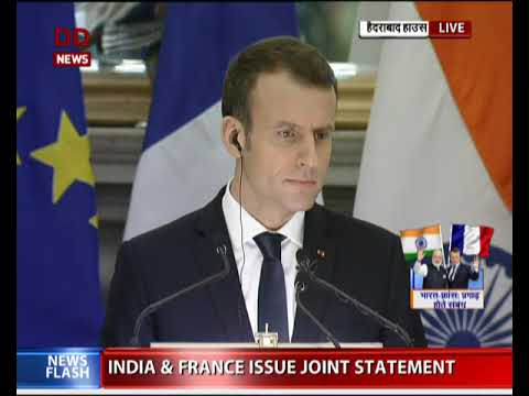India & France issue joint statement