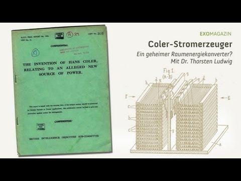Der Coler Stromerzeuger - Ein geheimer Raumenergiekonverter? (Dr. Thorsten Ludwig) | ExoMagazin