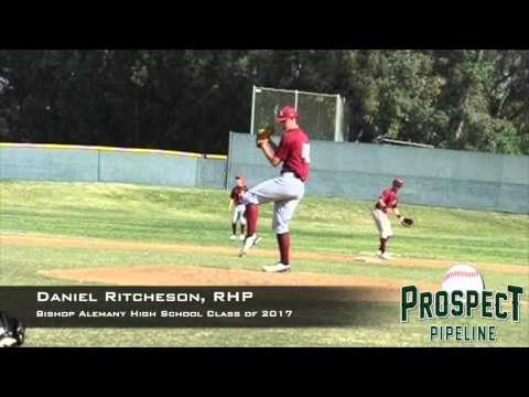 Daniel Ritcheson, RHP, Bishop Alemany High School, Pitching Mechanics at 200 FPS