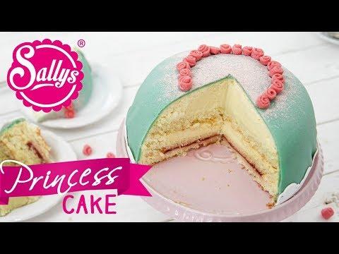 Schwedische Prinzessinnen Torte / Prinsesstårta / Sallys Welt / Sallys Welt