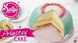 Schwedische Prinzessinnen Torte / Prinsesstårta / Sallys Welt