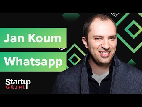 WhatsApp's Road to 1 Billion Users & $19 Billion Exit | Jan Koum (WhatsApp) @ Startup Grind Global