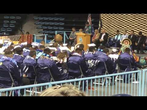 Class of 2017 Window Rock High School Graduation Pt 7