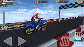 Hill Bike Galaxy Trail World 2 / Motorcycle Racing / Android Gameplay Video #4