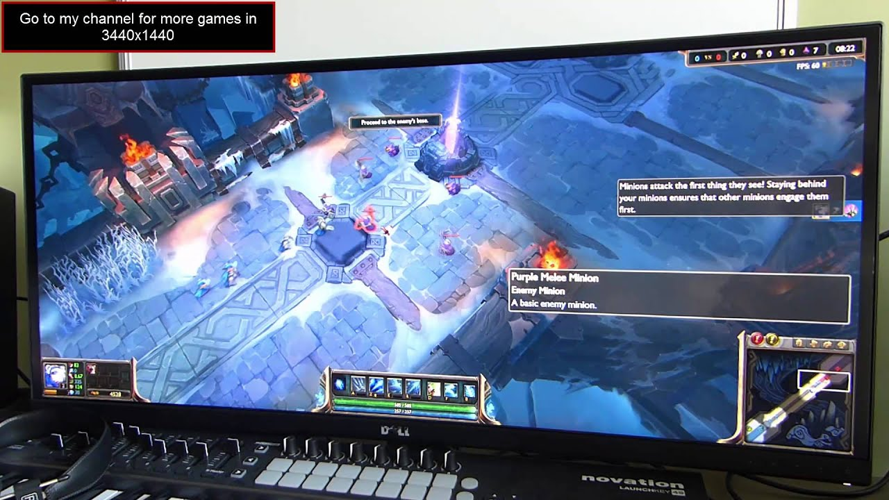 League Of Legends On 3440x1440 (DELL U3415W Curved) (21:9