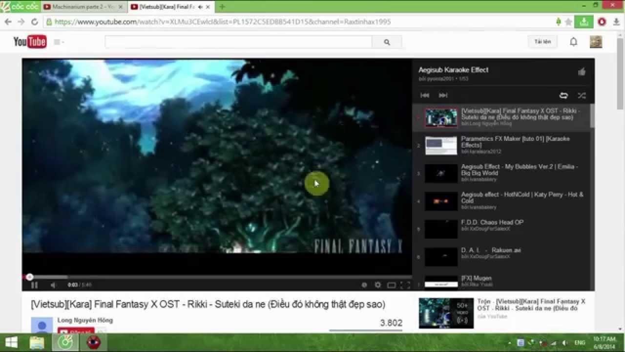 Hướng dẫn chèn hiệu ứng phụ đề Karaoke bằng Aegisub