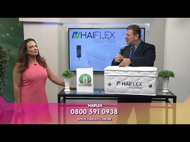 Colchão Tecnológico Haiflex no programa Vida Melhor