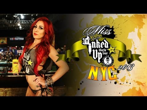 TATTOO CONVENTION COVERAGE - Rockstar Energy Miss Inked Up New York City