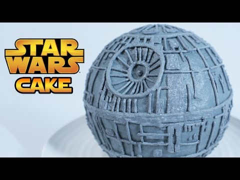 Generate STAR WARS DEATH STAR CAKE - NERDY NUMMIES Images