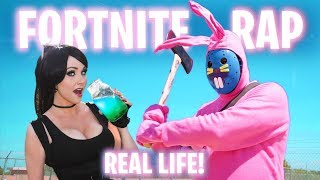 FORTNITE RAP BATTLE SONG ( Fortnite in Real Life / Fortnite the Movie) | Parody | Screen Team