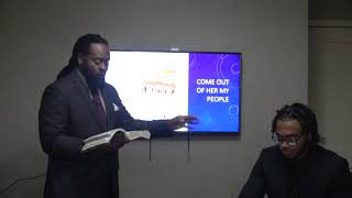 Come Out of Her My People Indianapolis Sabbath Lesson July 31, 2021 Part 1