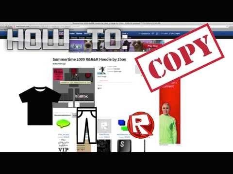 How To Copy Shirts And Pants Hd On Roblox Youtube