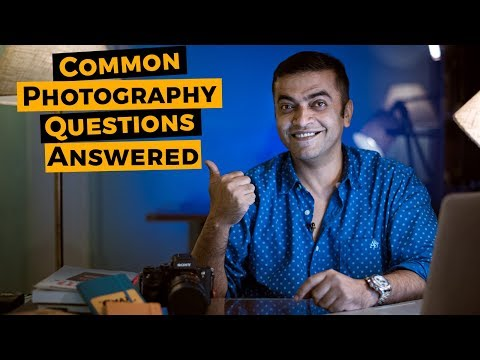Common photography questions answered | Google Hangouts on Air (Hindi)