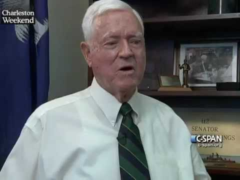"LCV Cities Tour - Charleston: Former Sen. Ernest ""Fritz"" Hollings (D-SC)"