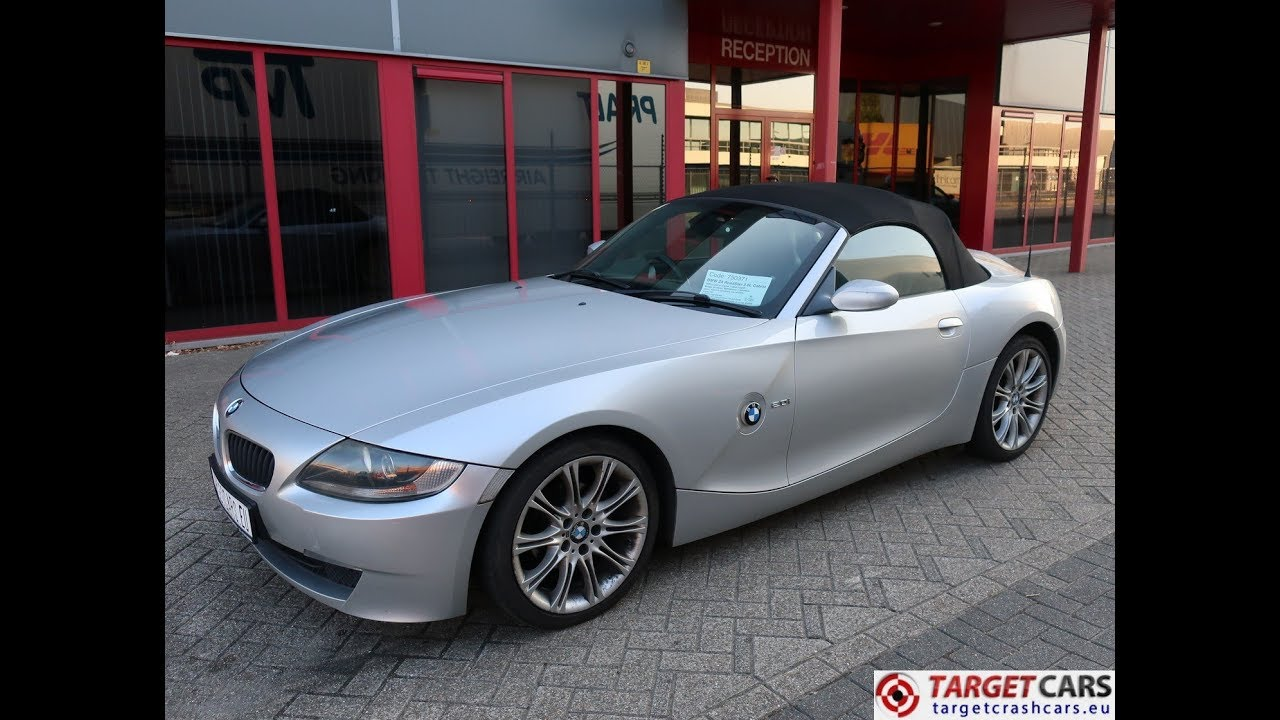 750371 Bmw Z4 Roadster 2 0l E85 Cabrio 150hp 03