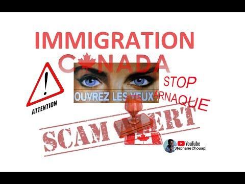 #Immigration CANADA  - JE ME SUIS FAITE ARNAQUER