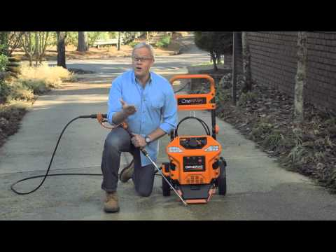 Generac 6602 OneWash Review [4-In-1 PowerDial Gas Powered Residential Pressure Washer]