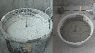 как работать с гипсовыми и цементными смесями? Советы специалиста компании Кнауф