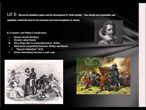 Slavery and Virginia LO 4