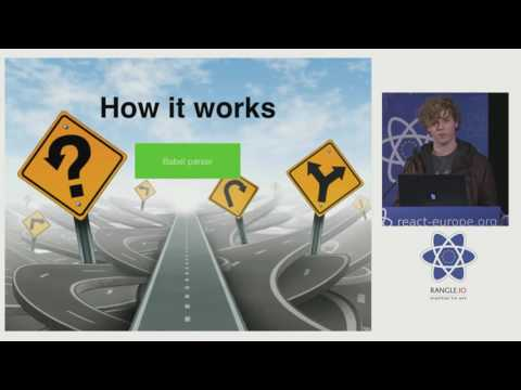 Sebastian McKenzie - Making Javascript Initialize Faster at react-europe 2016