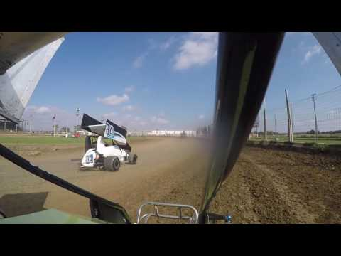 Miami County Speedway Wing Class Heat Outlaw Challenge 10-2-2016