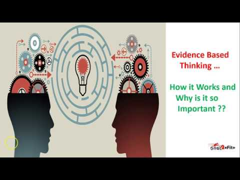 Evidence Based Thinking and Its Importance in the world of Fitness/Nutrition