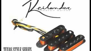 Reilander Custom Guitar Special Texas Hand Wound Pickups Sound Sample