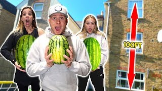 DON'T CRACK THE WATERMELON CHALLENGE!!