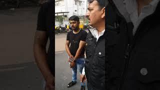 Delhi traffic police gundagardi