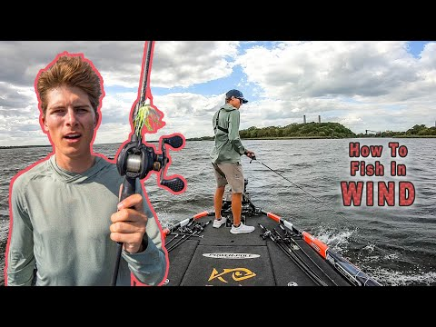 Fishing In WINDY Conditions! (DON'T Be AFRAID Of It!)
