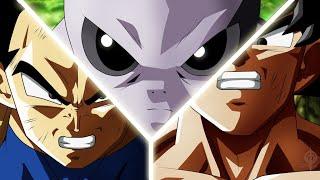 Jiren VS Vegeta & Goku -「AMV」- The Response