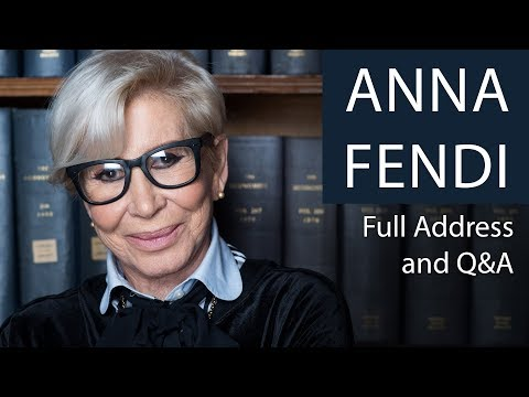 Anna Fendi | Full Address and Q&A | Oxford Union