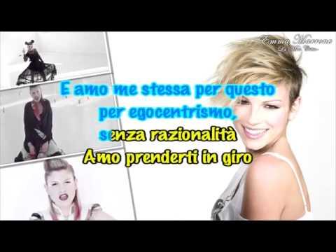 2014   Emma Marrone  La Mia Città karaoke instrumental Italy ESC 2014
