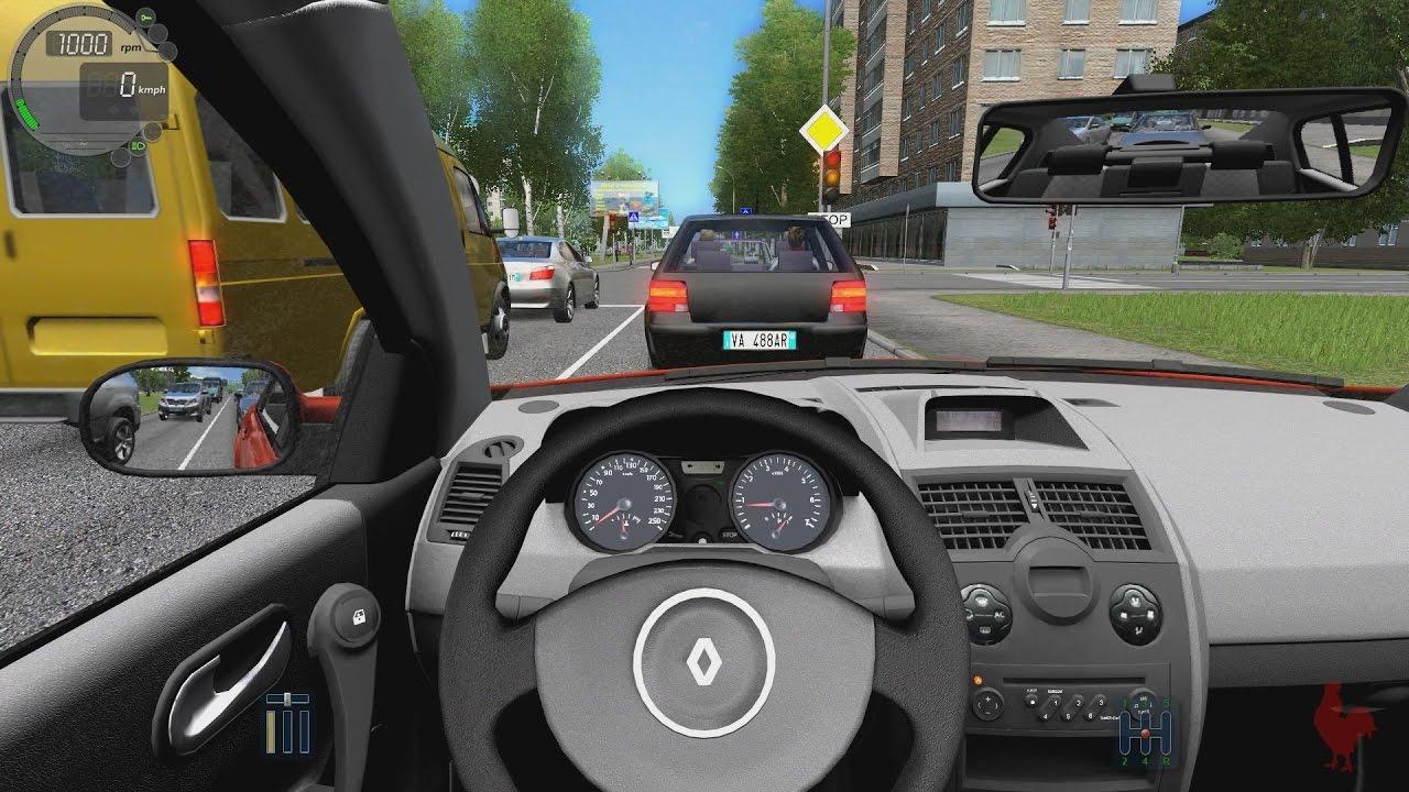 city car driving renault m gane youtube. Black Bedroom Furniture Sets. Home Design Ideas