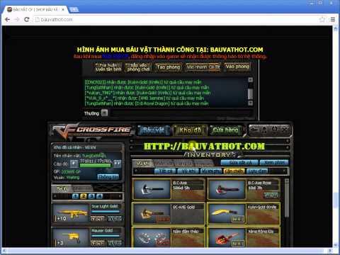 Huong dan mua bau vat cf, cach quay bau vat cf, bauvathot.com