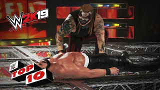 Hellacious Hell in a Cell Moments: WWE 2K19 Top 10