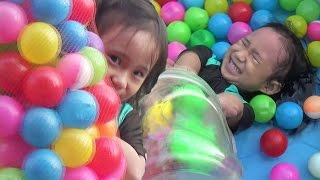 Mandi Bola Mandi Balon Menangkap Ikan Dan Mancing Ikan_The Ball Pit Show Learning Color